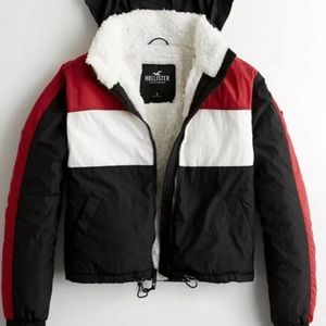 Windbreaker puff jacket HOLLISTER
